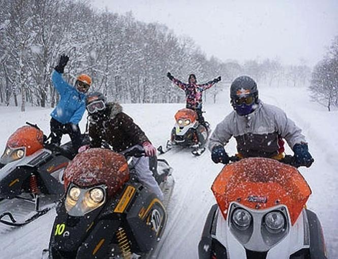 ЭТАЖИ помогут катание на снегоходах зимние каникулы 2016 Ежедневная выплата Нижневартовск